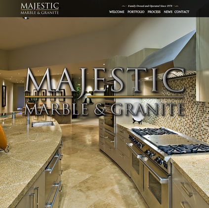 website and seo page for majestic